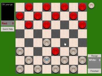 Network Draughts/Checkers